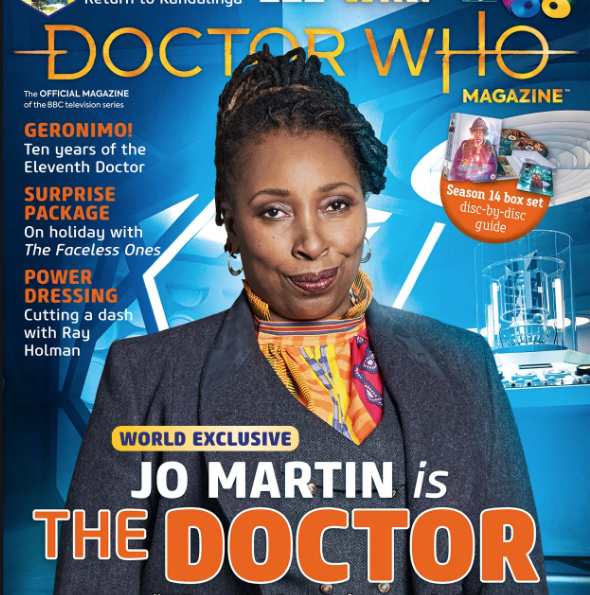 DOCTOR WHO ACTRESS, JO MARTIN, JOINS THE CAMEO LINE-UP